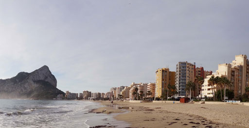 Apartamento 2 dormitorios en la Costa Blanca, Calpe.. Two bedrooms apartment located just a few metres from Levante Beach on Calpe.