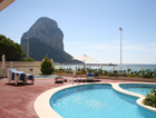 Three bedroom apartment in Poniente Beach seafront, in Costa Blanca.