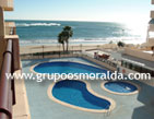 A beautiful 2 bedroom apartment on the first line of the Levante beach, located at the centre of the promenade.