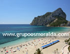2 bedroom apartment on the beach seafront, in Costa Blanca.