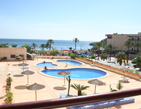 Two bedroom furnished apartment, on the Levante Beach seafront, in Costa Blanca.