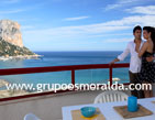 Duplex penthouse with spectacular views, in Costa Blanca, Calpe.