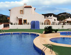 Bungalow in privileged surroundings in Calpe, Costa Blanca