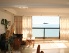 Magnificent 2 bedroom apartment in 1st line of the beach in Benidorm. Spectacular sea views