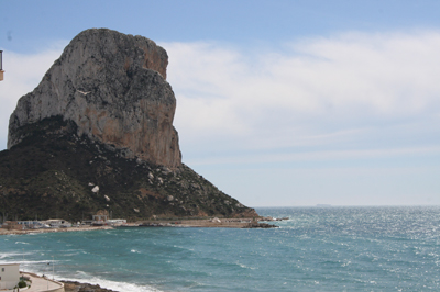 Apartment with two bedrooms, located on the Arenal Beach, Calpe.