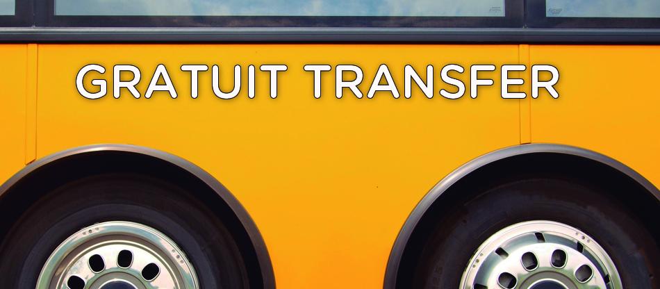 Transfer gratuit