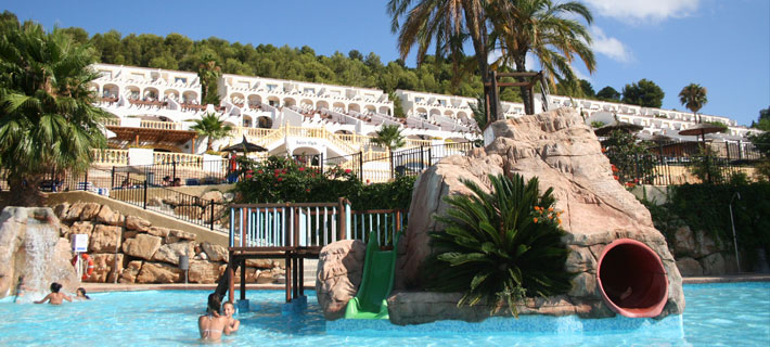 HOTEL-RESORT-BUNGALOWS PLAYA DE CALPE TODO INCLUIDO FAMILIAS