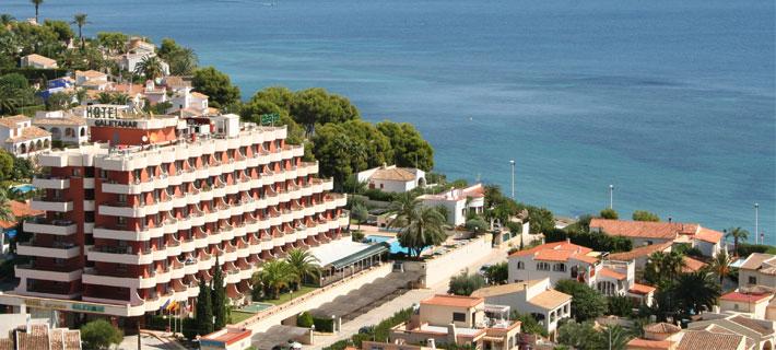 Hoteles en Calpe playa